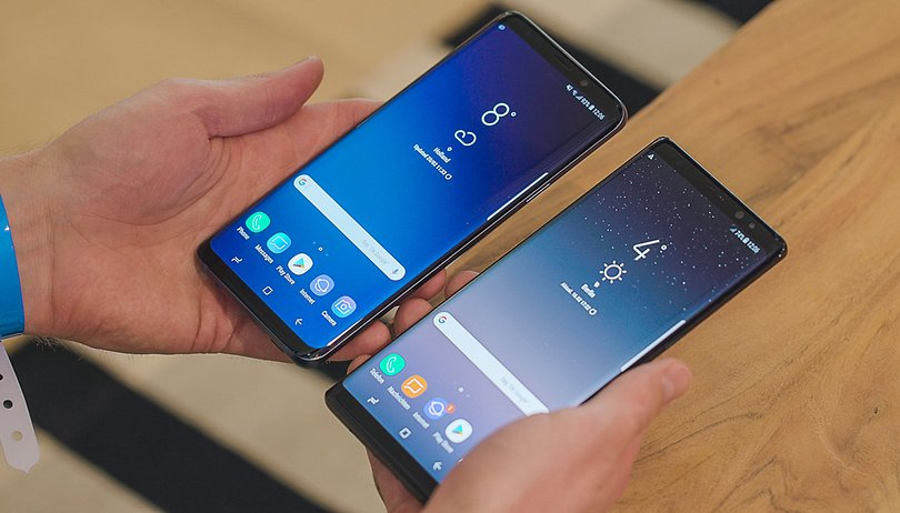 Samsung Galaxy S9 Plus vs Galaxy Note 8: apertura variabile o S-Pen?