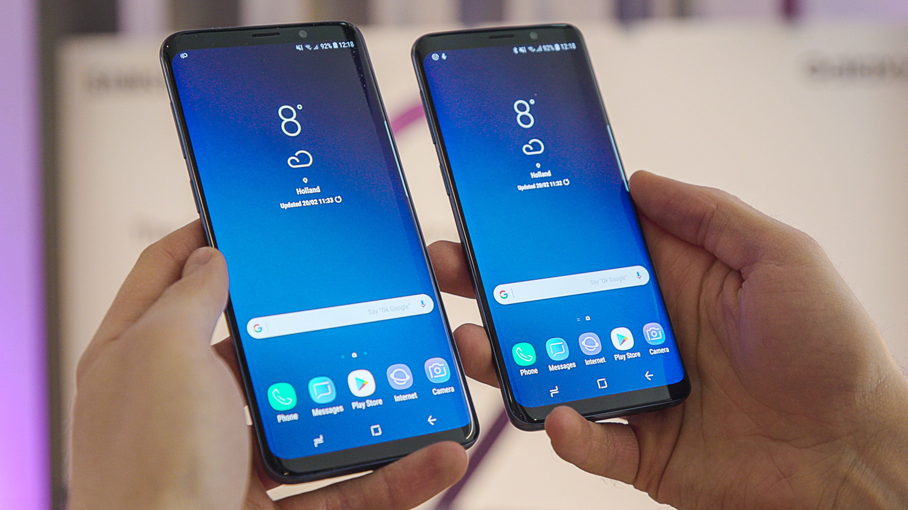 samsung galaxy s9 vs s9 my money 39 s on the big one. Black Bedroom Furniture Sets. Home Design Ideas