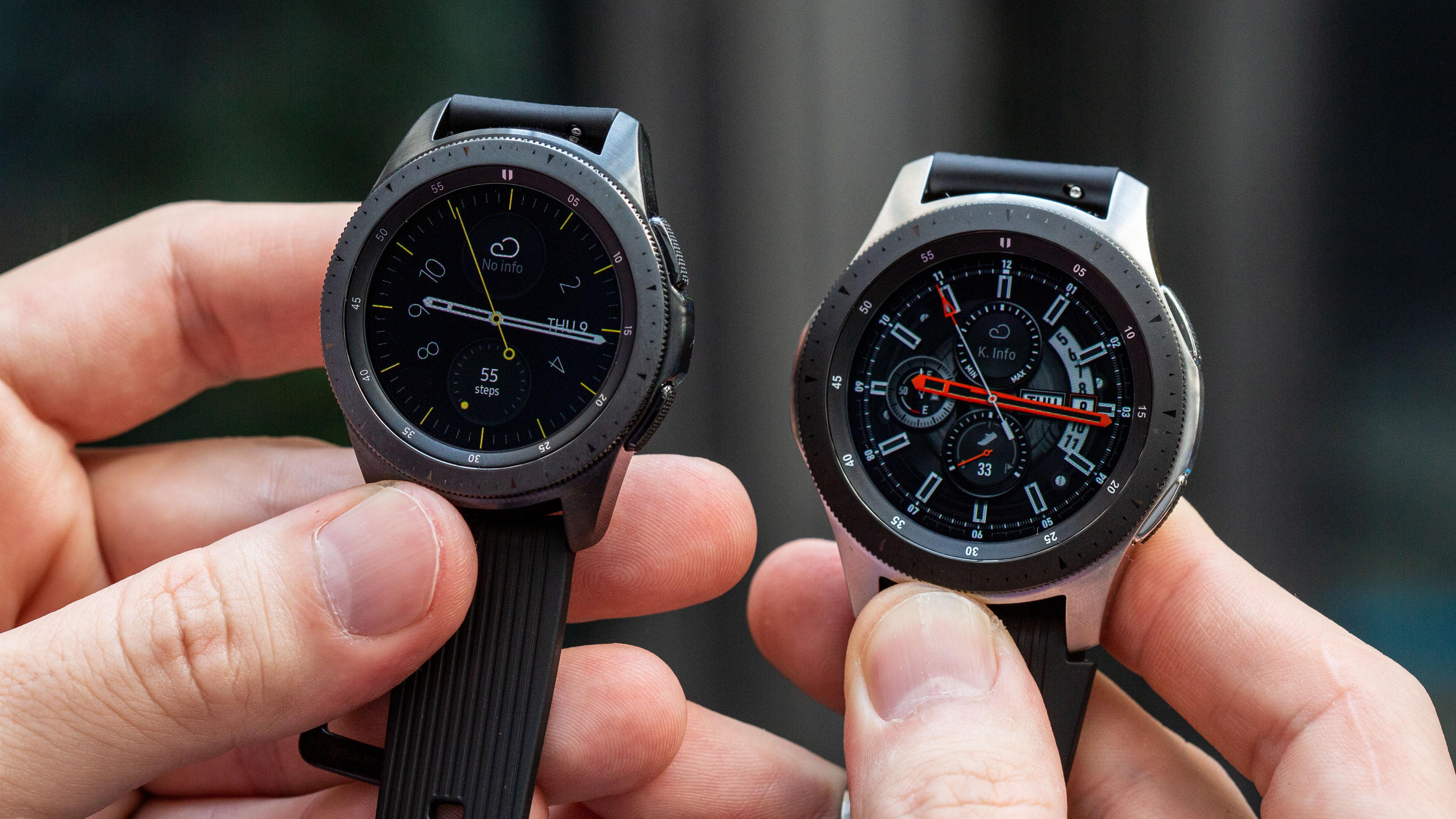 Samsung Galaxy Watch Im Test Aus Gut Wird Perfekt Androidpit