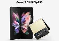 Galaxy Z Fold 3: Kamera unter dem Display mit niedriger Auflösung