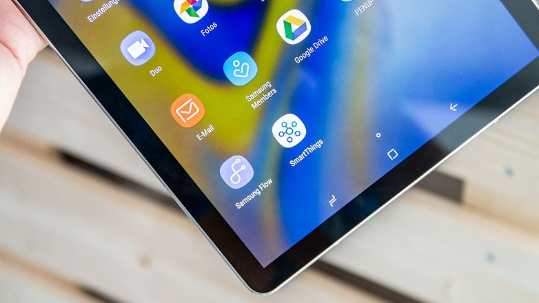 AndroidPIT samsung galaxy tab s4 detail