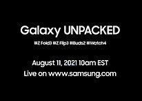 Samsung Unpacked: Les Galaxy Z Fold 3, Flip 3, Buds 2 et la Watch 4 présentés le 11 août