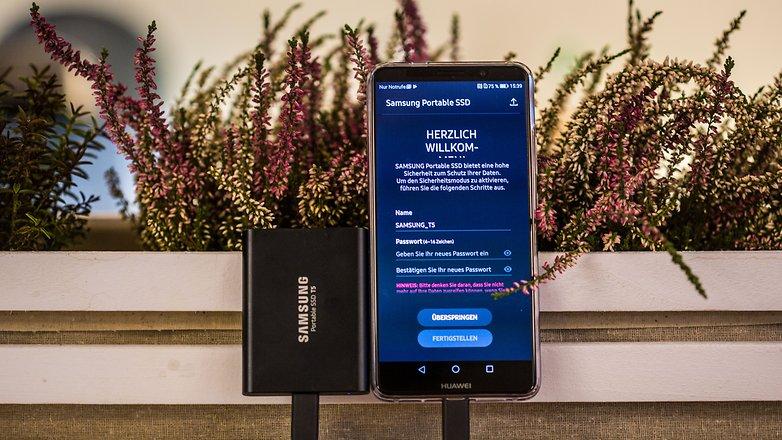 samsung portable ssd t5 app