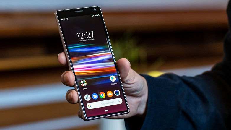 AndroidPIT sony xperia 10 front gt5