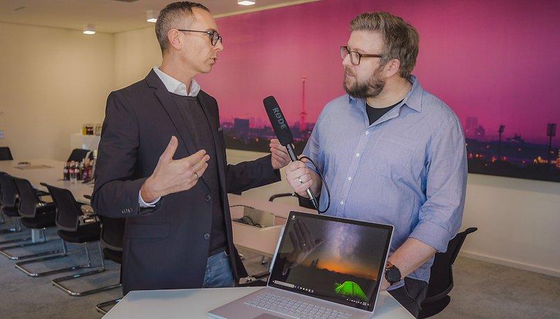 Im Gespräch: Microsoft über Surface, Windows, Android und mehr