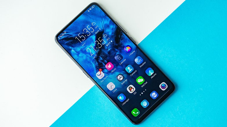 AndroidPIT vivo nex a front