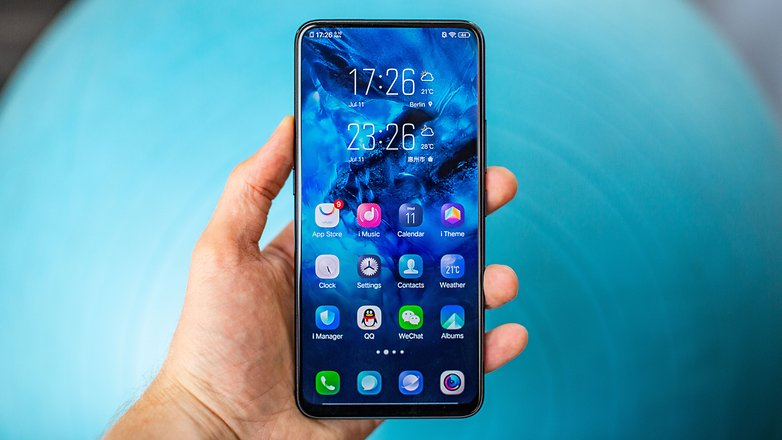 AndroidPIT vivo nex a front3