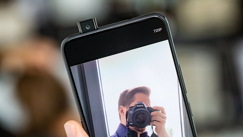 AndroidPIT vivo nex a pop up camera