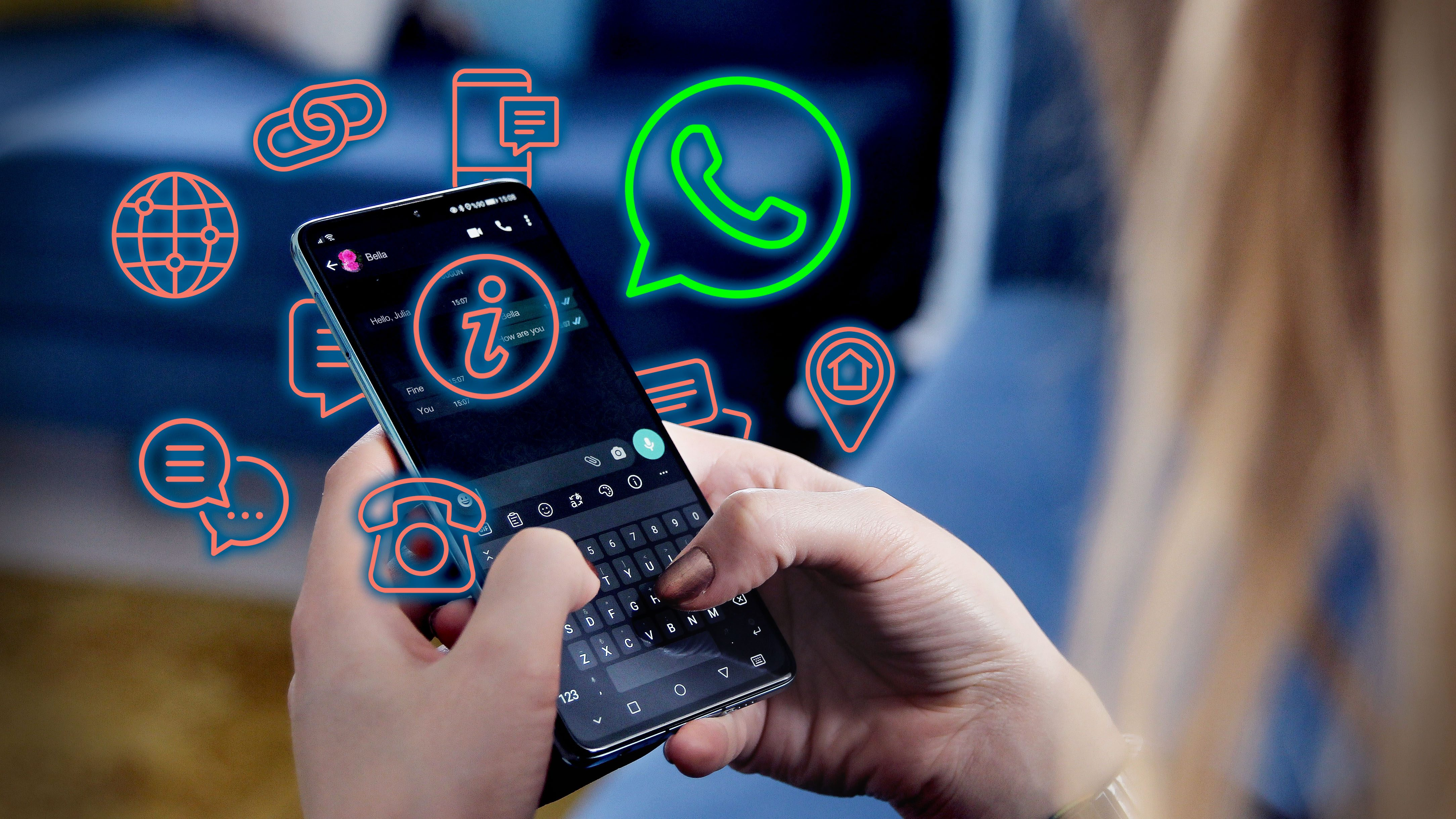 Whatsapp Lifehack Turn your voice into textual content messages