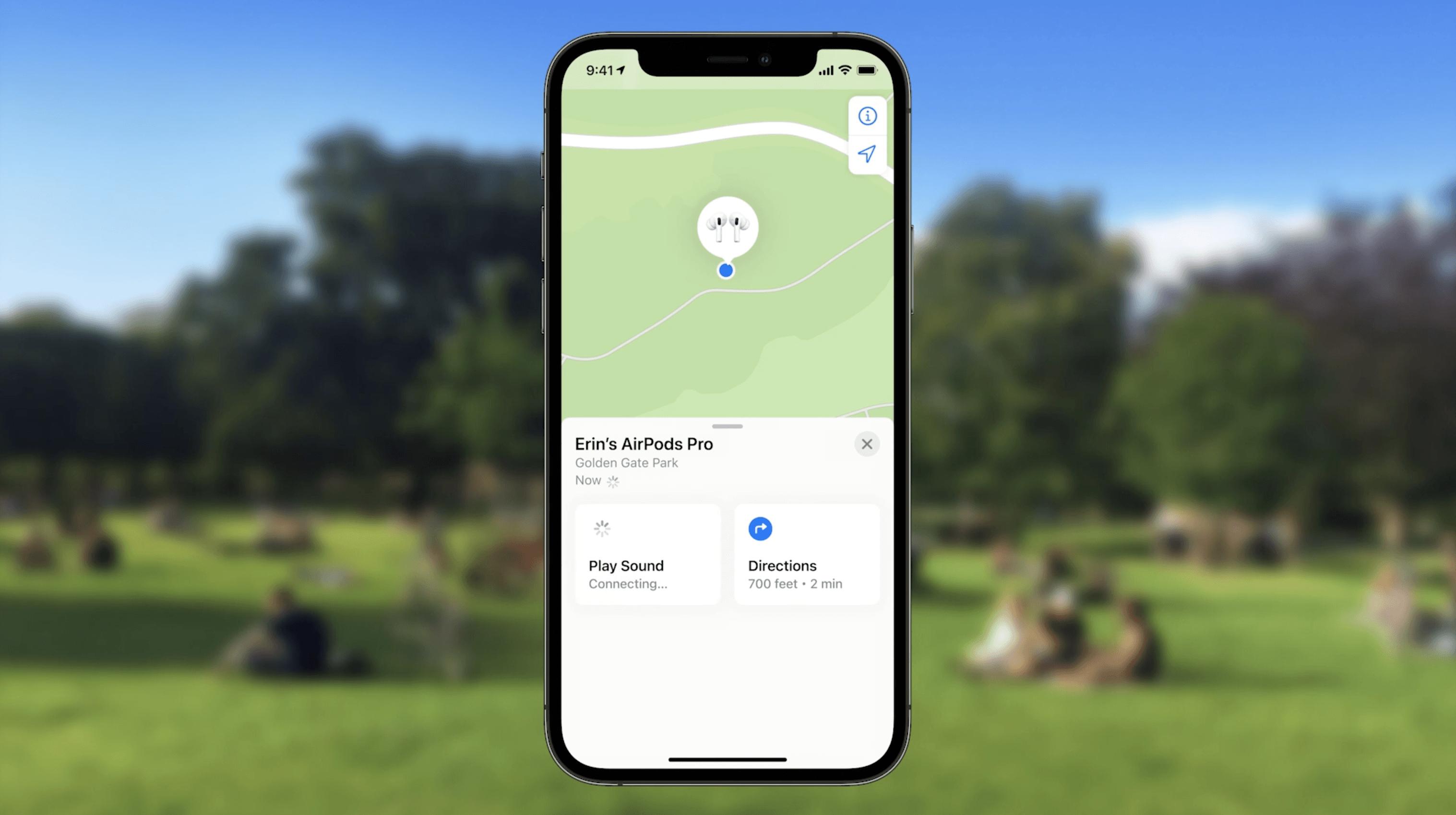 Apple juga melakukan pembaruan pada fitur AirPods