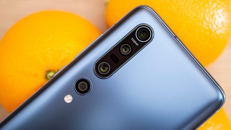 Détails sur la caméra AndroidPIT xiaomi mi 10 pro2