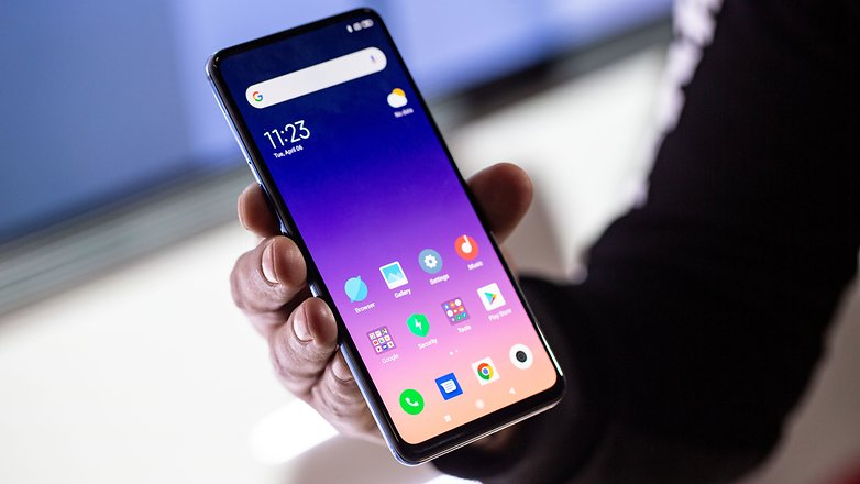 AndroidPIT xiaomi mi mix 3 5g front