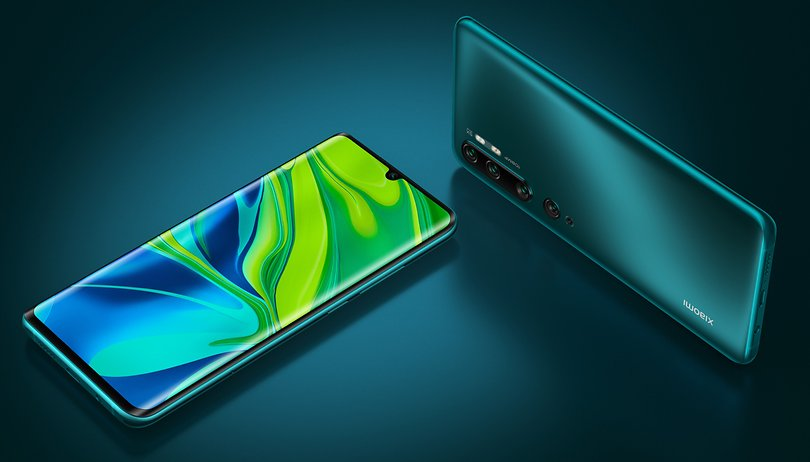 Xiaomi Mi Note 10 (Pro) officially launched: more camera than mobile phone