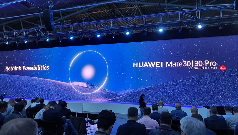 Mate 30 (Pro) launch: Huawei forced to abandon the European market