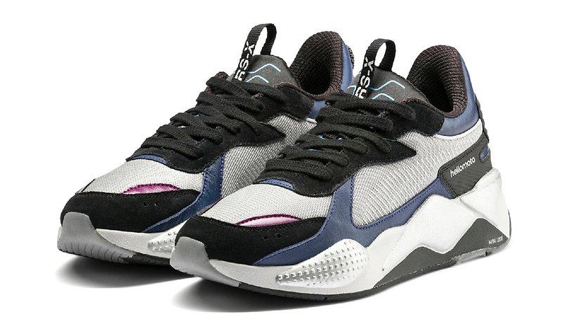 Motorola et Puma s'associent pour créer... une paire de chaussures