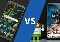 Google Pixel 2 XL vs. Huawei Mate 10 Pro: Das Verfolgerduell