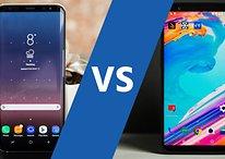 OnePlus 5T vs Samsung Galaxy S8 : un même prix pour deux appareils très différents