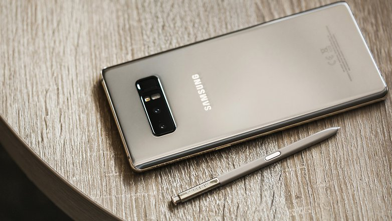 AndroidPIT Samsung NOTE 8 GOLD 4355