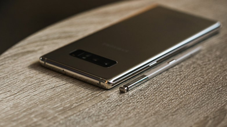 AndroidPIT Samsung NOTE 8 GOLD 4356
