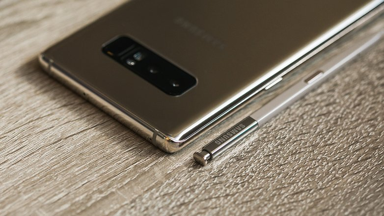 AndroidPIT Samsung NOTE 8 GOLD 4357