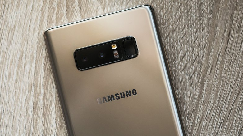AndroidPIT Samsung NOTE 8 GOLD 4391