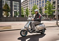 We hit the streets of Berlin on the new Vespa Elettrica