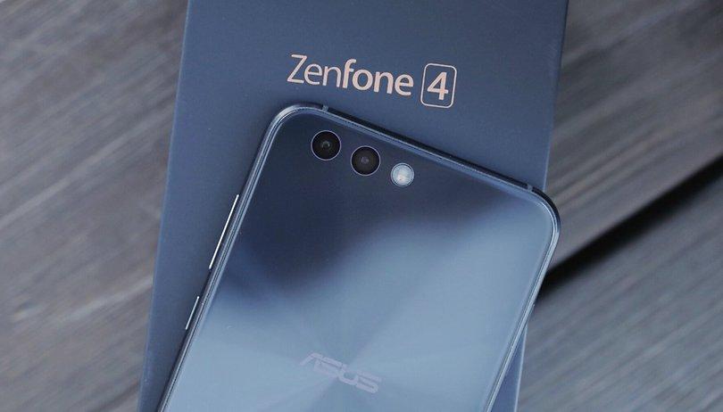 Diese glücklichen Teilnehmer nehmen am Asus ZenFone-4-Event teil