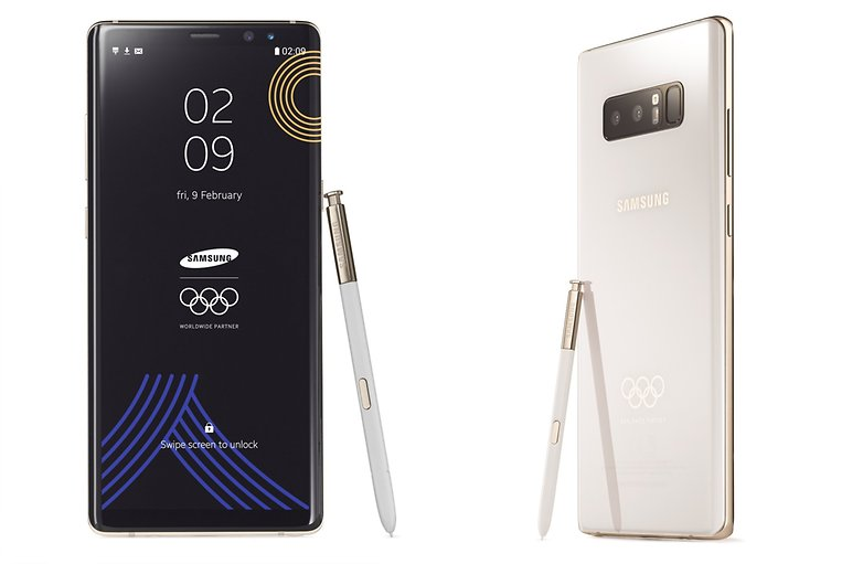Galaxy Note8 PyeongChang 2018 Olympic Games Limited Edition 3