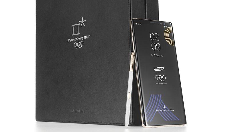 Olympia-Edition des Galaxy Note 8 birgt Zündstoff