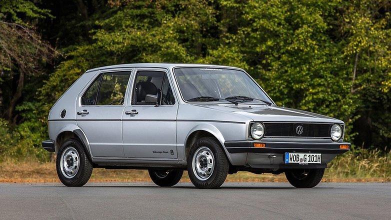 #TBT - 45 Jahre VW Golf: Das Auto ist nicht mehr wieder zu erkennen