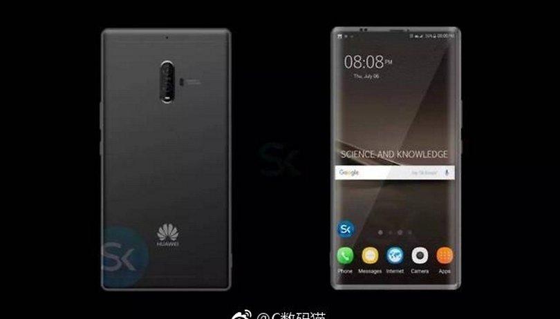 Huawei Mate 10: Randloses Display nicht für alle?