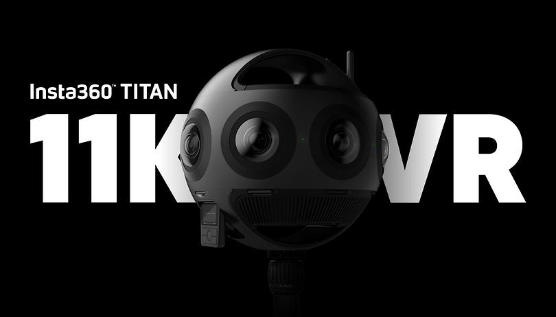 8 Linsen und 11K: Insta360 Titan für VR-Profis