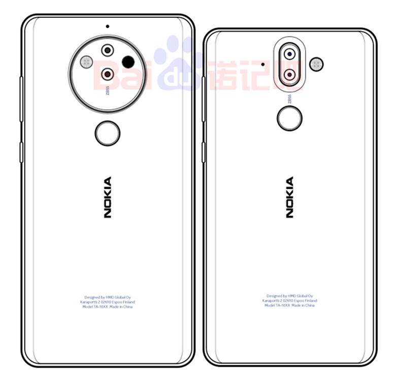 Nokia 10 sketched image