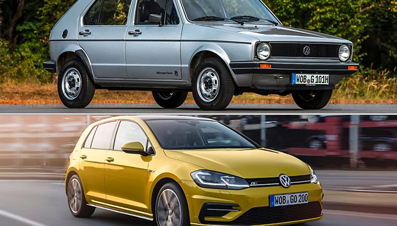 #TBT - The VW Golf is hardly recognizable 45 years on