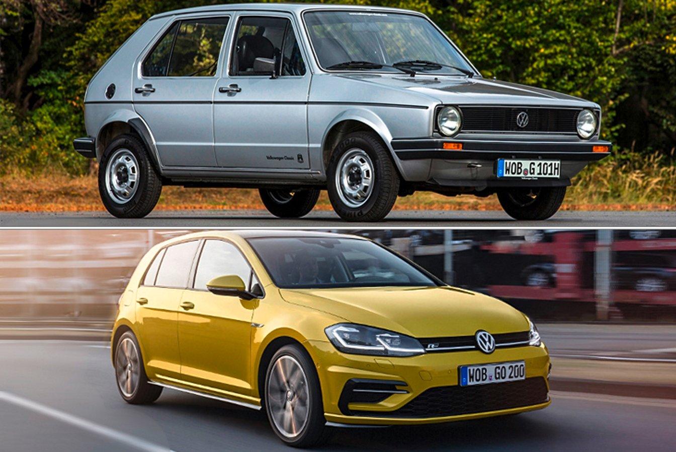 #TBT - 45 Jahre VW Golf: Das Auto ist nicht mehr wieder zu erkennen | NextPit