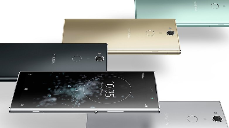Xperia XA2 Plus Horizontal Color line up