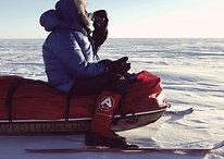 Seul en Antarctique avec un Samsung Galaxy A5
