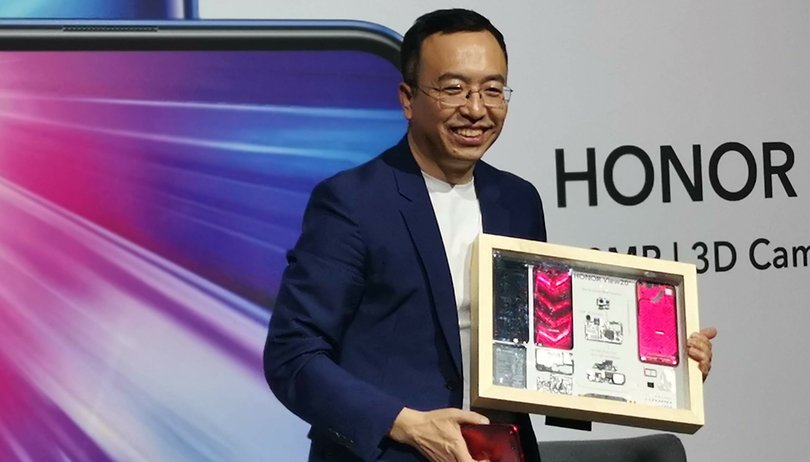 Honor boss George Zhao: we're shooting right to the top