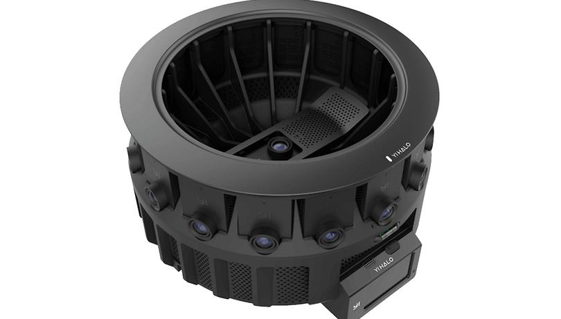 Google Yi Halo: Googles neue 360-Grad-Kamera