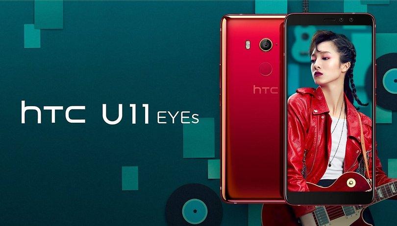 HTC U11 EYEs: Zwei Kamera-Augen für schönere Selfies