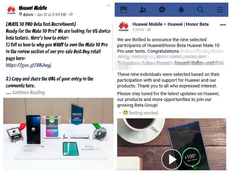 Huawei Mate 10 Pro: Fake reviews in exchange for free smartphones?