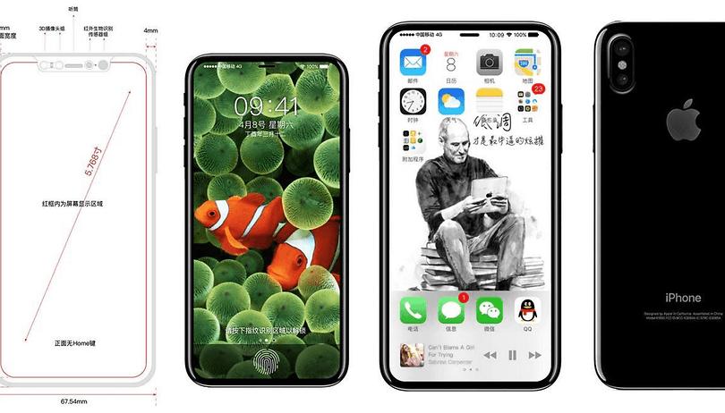 Hoffentlich wird das iPhone 8 nicht tatsächlich so aussehen