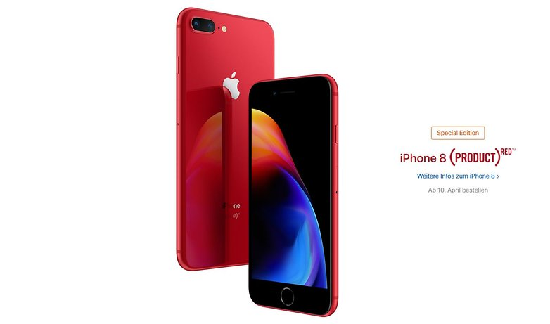 iphone 8 produkt red 1