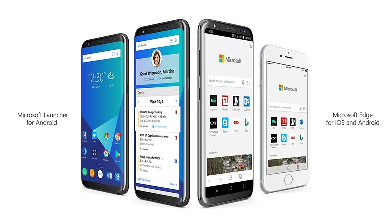 microsoft edge launcher android