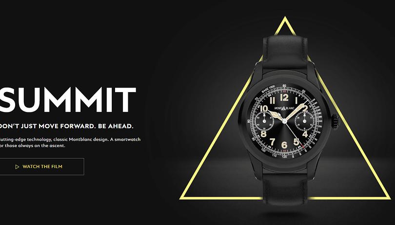 Montblanc Summit: Luxus-Smartwatch kommt im Sommer