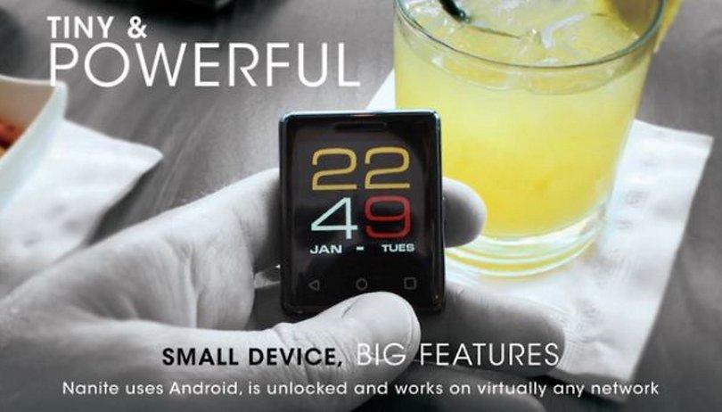 Nanite: Das kleinste Smartphone der Welt