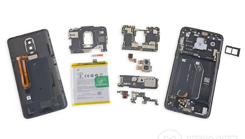 OnePlus 6 im Teardown: Wasserdicht durch die Hintertür