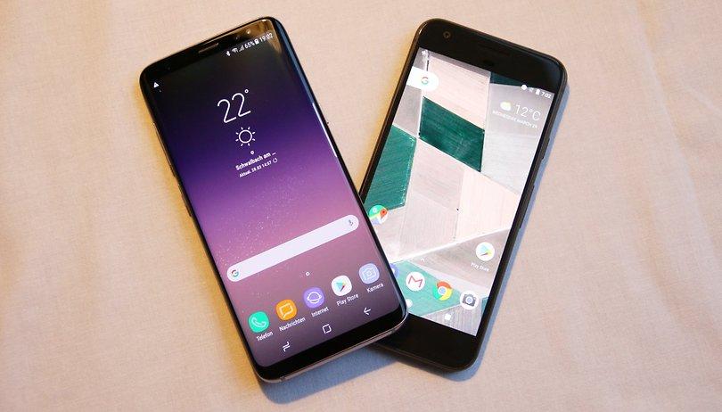 In diesen Bereichen will das Galaxy S8 das Google Pixel schlagen