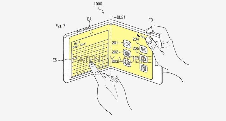 samsung galaxy x patent 2