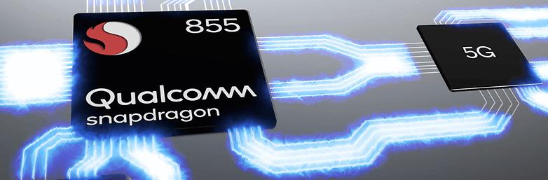 snapdragon 855 mobile platform hero image